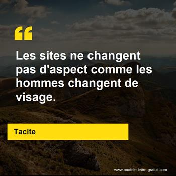 Citations Tacite