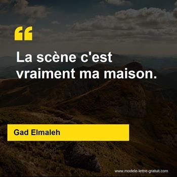 Citations Gad Elmaleh